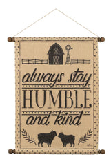 Humble and Kind Wall Hanging
