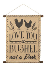 Bushel and a Peck Wall Hanging