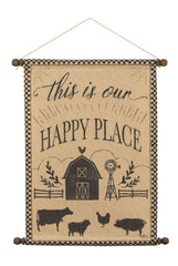Happy Place Wall Hanging