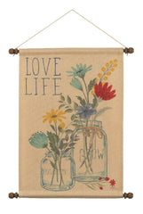 Blooming Thoughts Love Wall Hanging