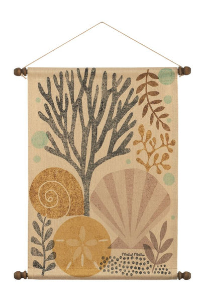 Under the Sea Scallop Wall Hanging
