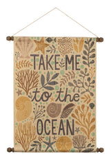 To the Ocean Wall Hanging