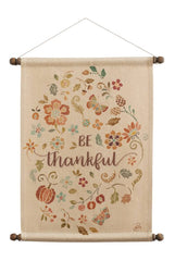 Be Thankful Wall Hanging