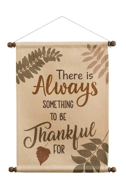 Thankful Always Wall Hanging
