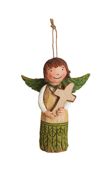 Choose Faith Angel Ornament