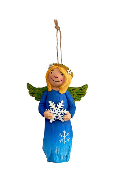 Winter Beauty Angel Ornament