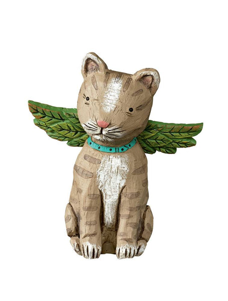 Gray Tabby Pet Angel
