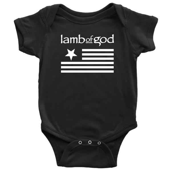 Lamb of God Flag Onesie