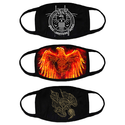 Lamb of God Mask 3 Pack
