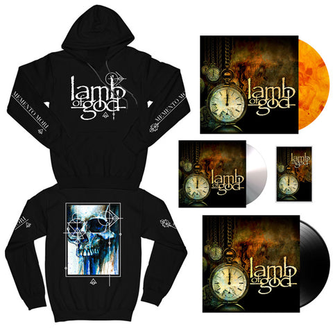 Memento Mori Pullover Hoodie + Choose Your Music Bundle