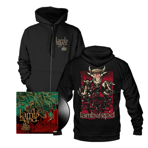Ashes of the Wake 15th Anniversary Standard Vinyl + Hoodie Bundle