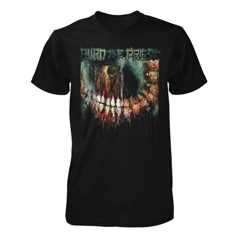 Burn The Priest Skeleton Teeth Tee