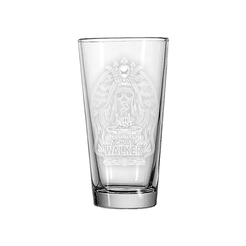 Ghost Walker Pint Glass