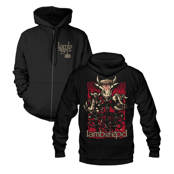 Ashes of the Wake 15th Anniversary Zip Hoodie