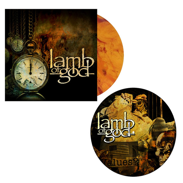 Lamb of God Album Deluxe Vinyl + Collage Slipmat Bundle