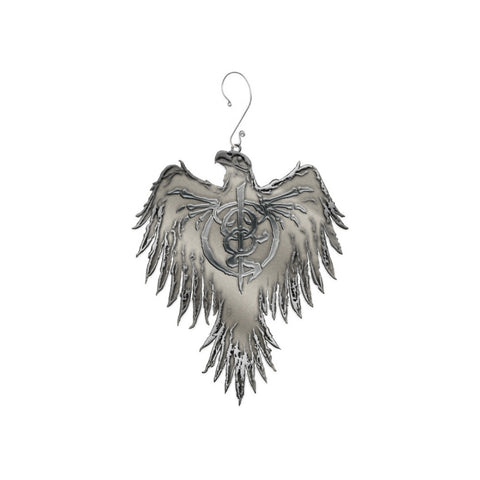 Metal Cast Phoenix Ornament