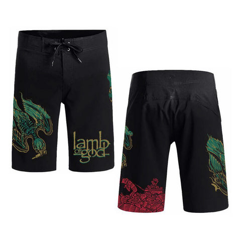 Ashes of the Wake Board Shorts