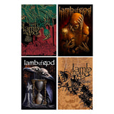 Lamb of God Poster Series Bundle