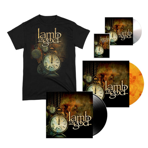 Lamb of God Album Cover Tee + Choose Your Music Bundle
