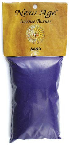 1 Lb Purple incense burner sand