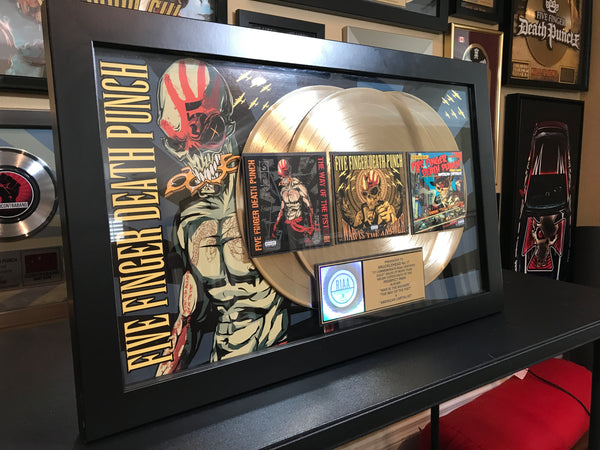 5FDP 3X Gold Plaque