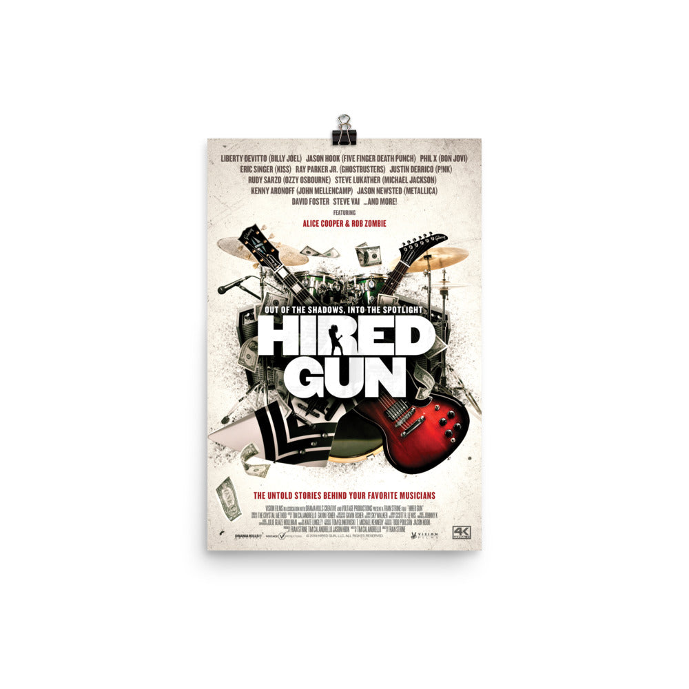 Hired Gun Official Movie Poster
