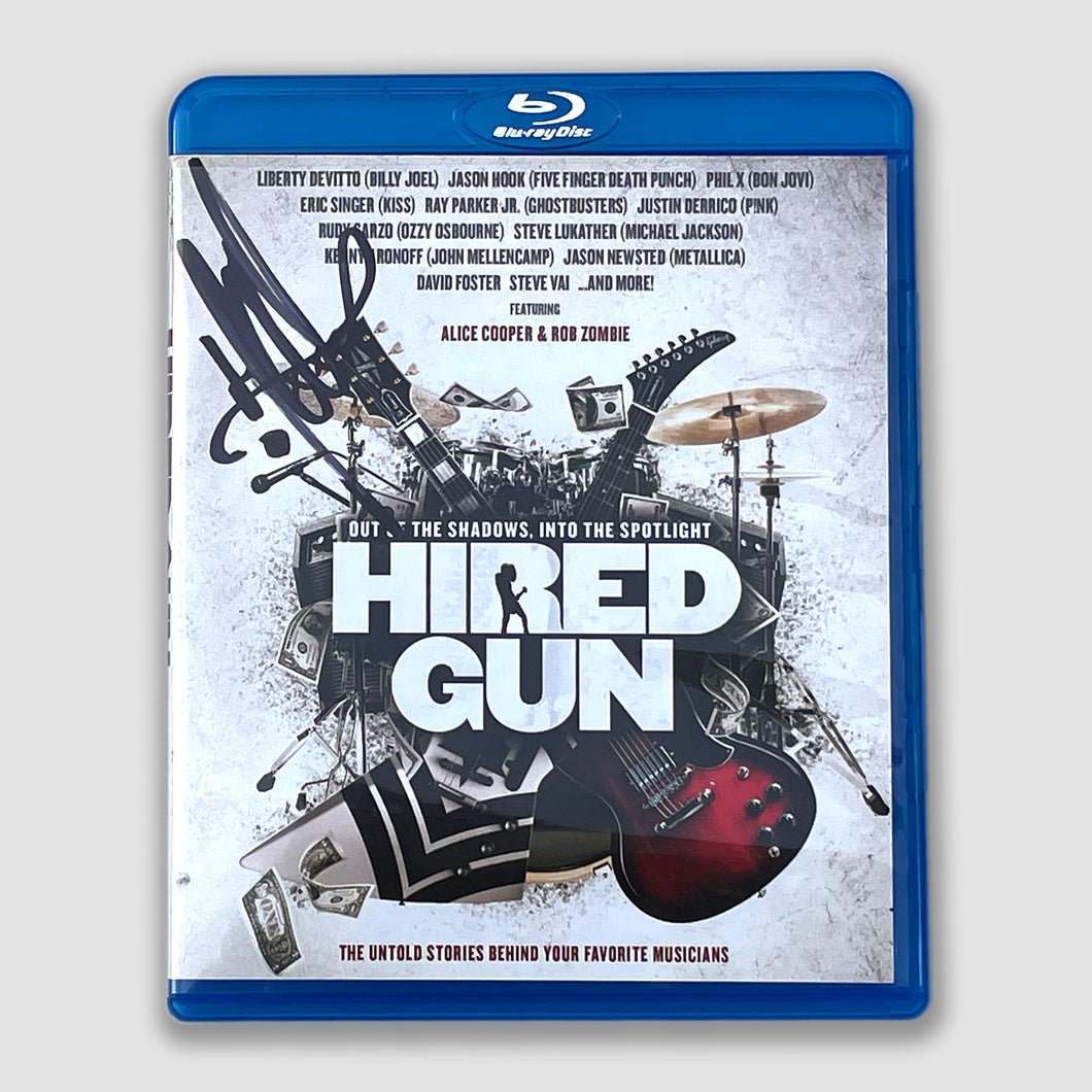 Signed HIRED GUN BLU-RAY
