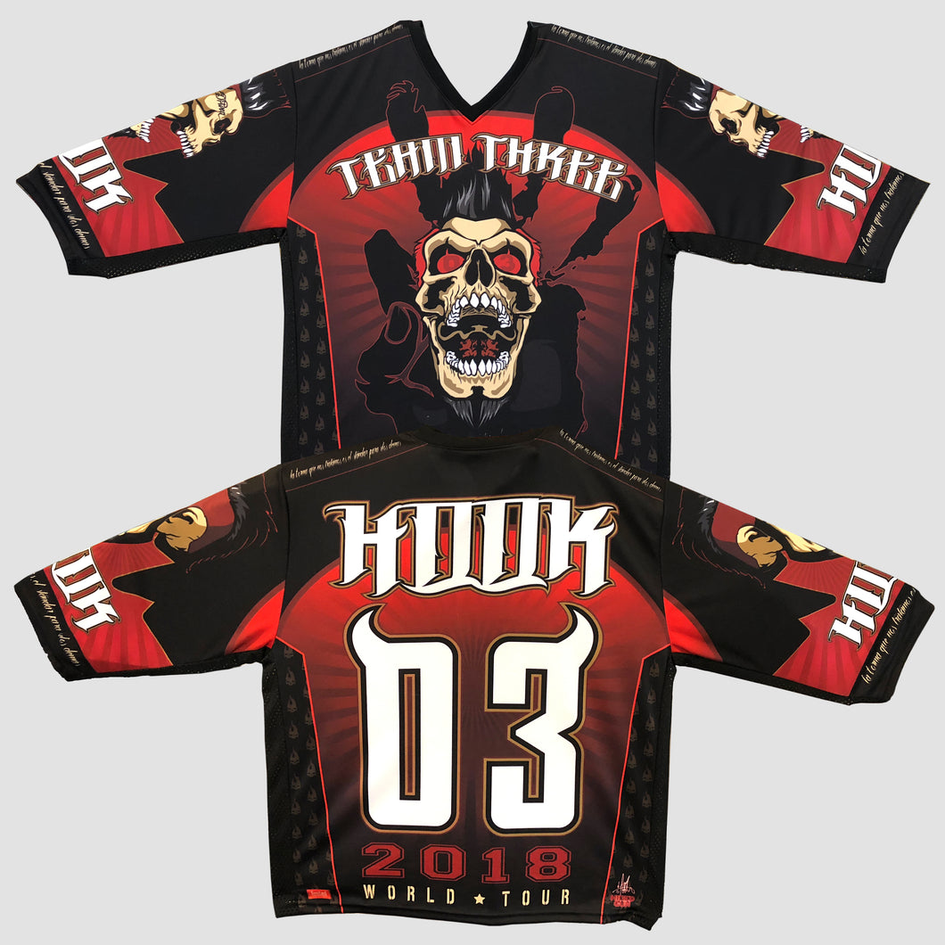 Jason Hook Signed Tour Jersey [Black Shoulder Accent]