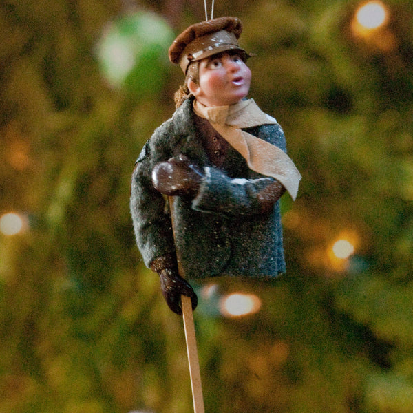 Tiny Tim Ornament - Christmas Keepsake - Delightful hanging ornament available in different colours-Limited Edition-kenfolks