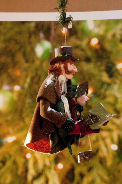 Christmas Carollers Ornament - Singing Duo - Handmade Christmas by Ken Fedoruk-Limited Edition-kenfolks