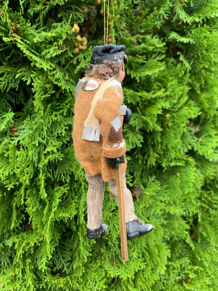Tiny Tim Ornament - Christmas Keepsake - Delightful figure- hanging ornament-Limited Edition-kenfolks