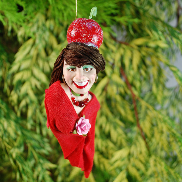 Christmas candy ornament - Sweeties Maraschino Cherry - Candy Elf-Limited Edition-kenfolks
