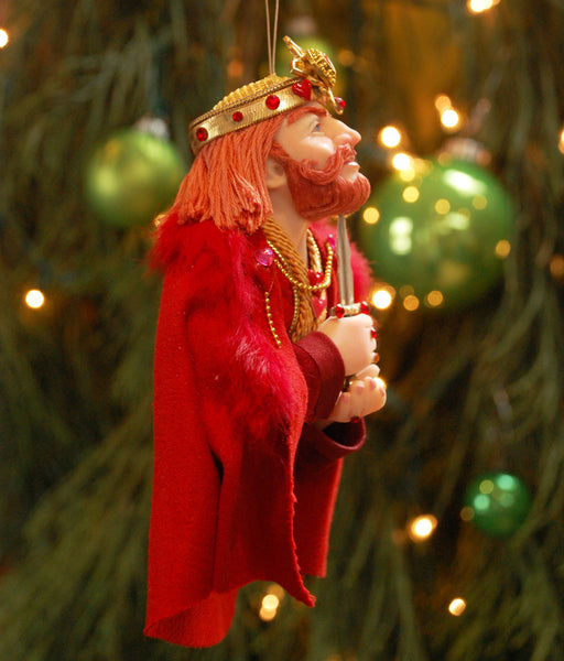 King, Queen, Jack of Hearts - handcrafted one-of-kind-Hanging Ornament-kenfolks