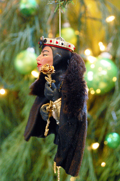 King, Queen, Jack of Spades - 2017 handcrafted one-of-kind-Hanging Ornament-kenfolks
