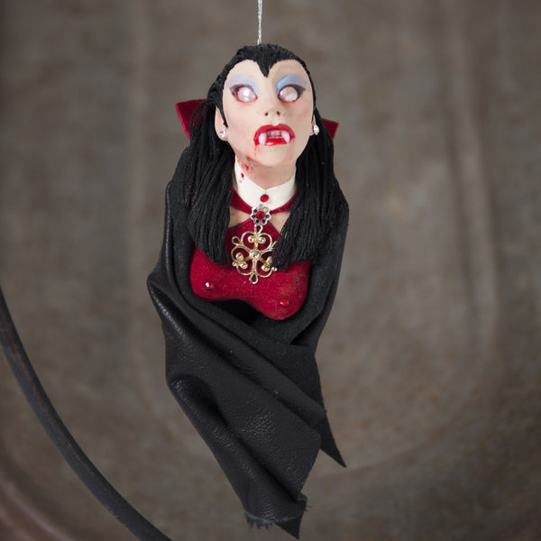 The Sisters Dracula's Vampires - Original Art-Hanging Ornament-kenfolks