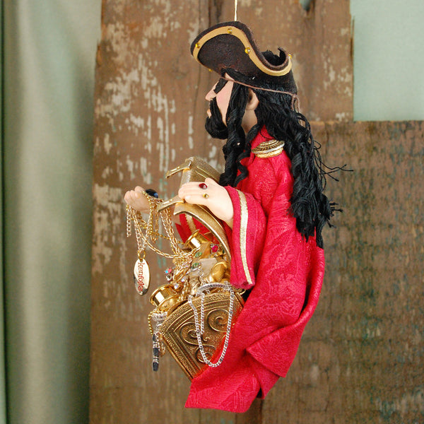 Black Beard Pirate-Hanging Ornament-kenfolks