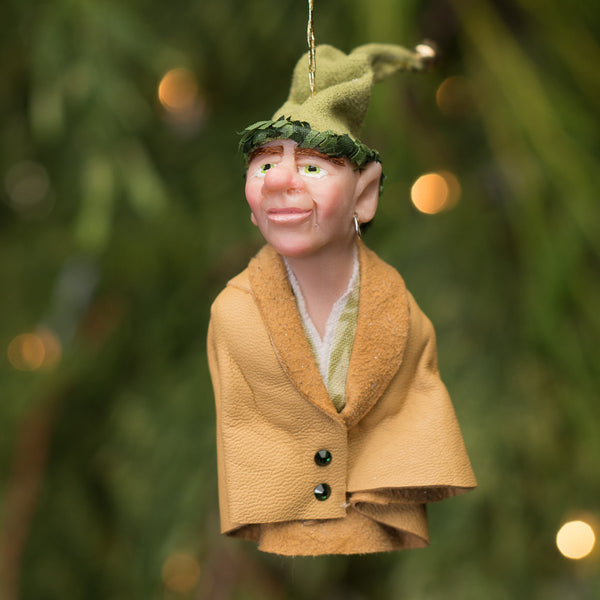 Elf 7- Santa's pint size workshop elf. Handmade Christmas-Limited Edition-kenfolks