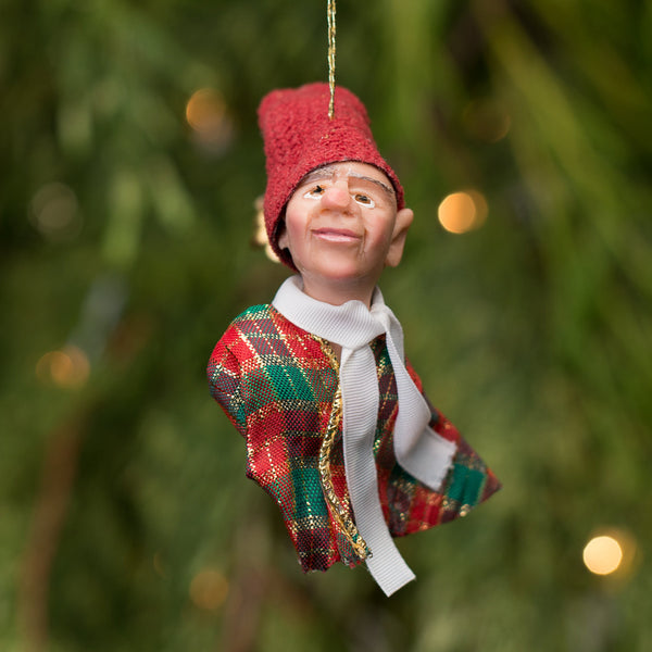 Elf 6- Santa's pint size workshop elf. Handmade Christmas-Limited Edition-kenfolks