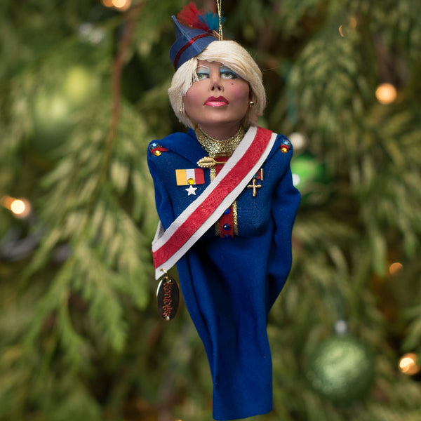 Toy Soldier Great Britain - Christmas or home decor handcrafted hanging Ornament - The Nutcracker comes to life-Hanging Ornament-kenfolks