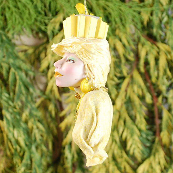 Lemon Decor Christmas decoration - Eye Candy - Put some sweet in your holiday with a spectacular handcrafted ornaments from Kenfolks.-kenfolks