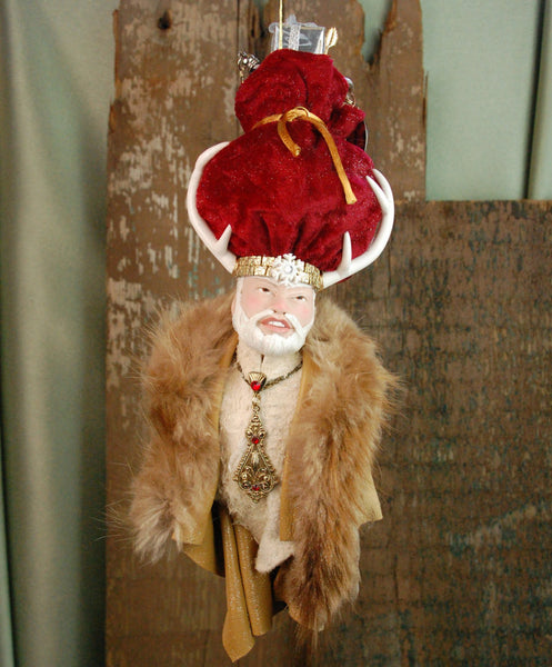 Norwegian Santa, Hanging Christmas ornament-Limited Edition-kenfolks