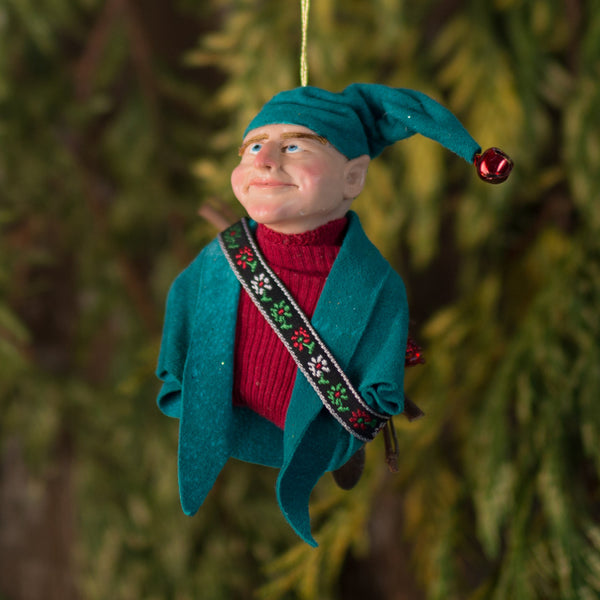 North Pole Elf, Santa's wood elf-Limited Edition-kenfolks