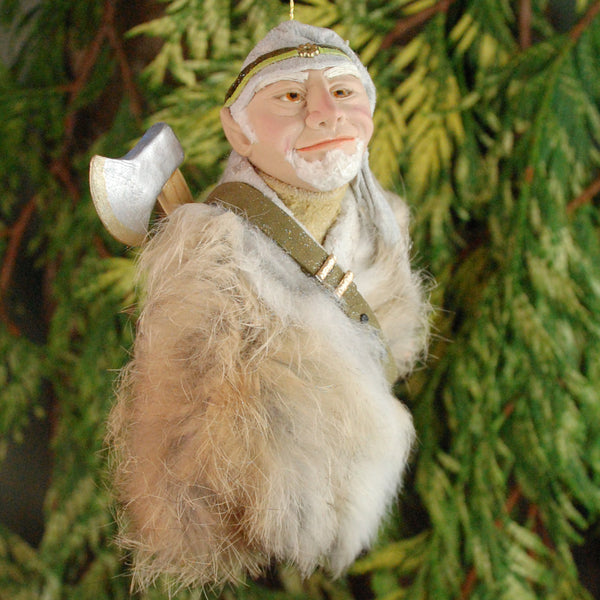 North Pole Elf, Santa's Elf ORIGINAL ART-Hanging Ornament-kenfolks