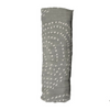 Image of lifestyle-bamboo-baby-muslin-single-grey-and-white-dots-swaddle-blanket