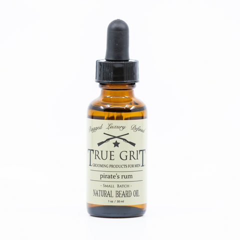 Pirate's Rum Natural Beard Oil