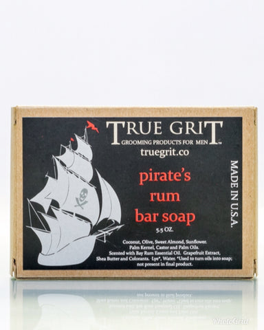 Pirate's Rum Natural Bar Soap