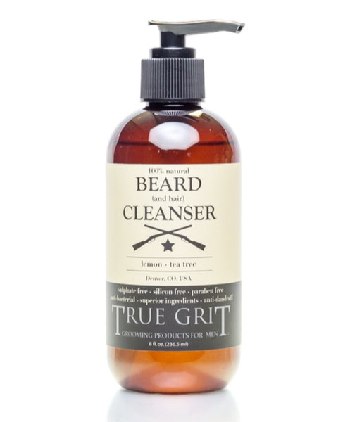 Lemon-Tea Tree Beard Cleanser