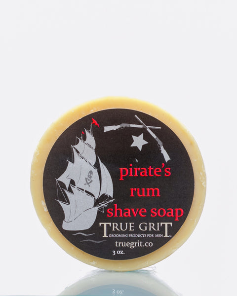 Pirate's Rum Shave Soap