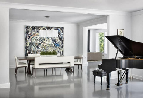 Piano room décor | Latitudes World Décor