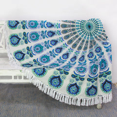 Indian cotton mandala roundie | Latitudes World Décor